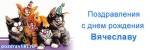 Поздравления на день рождения Вячеславу